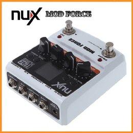 Efectos de modulación en venta-Electrónica Nuevo NUX guitarra eléctrica mod Efecto eléctrico pedal 12 Multi modulación color pantalla piezas de instrumentos musicales