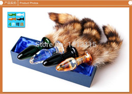 151204 Free shipping Sex glass anal butt plug erotic Sex toys for Men and Women glass dildo sex products adult products