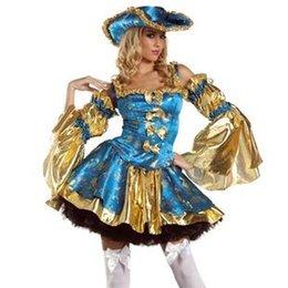Wholesale Disfraces Fantasia Infantil Carnival Costume European And American Aristocracy Halloween Alice Dress Mini Nightclub Ds Cosplay