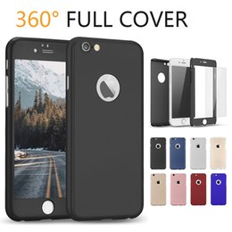 For iPhone XS MAX Full Curved 360 Protector Film Cover Case with Tempered Glass Rugged Protector Case for iPhone 7 8 Plus XR XS with OPP Bag