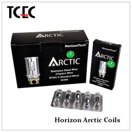 Wholesale Authentic horizon arctic coils ohm ohm BTDC coil head for arctic tank DHL free