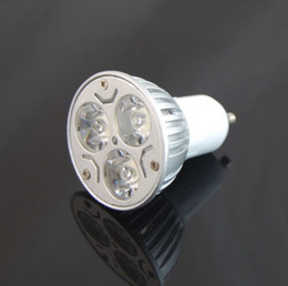 GU10 E27 MR16 CREE 9W 3x3W Replace 50W dimmable High power CREE Light LED Bulb Lamp Downlight