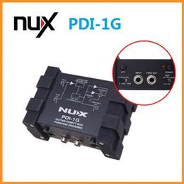 Wholesale Compact Design Metal Housing Guitar Direct Injection Phantom Power Box Audio Mixer Para Out NUX PDI G