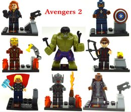 Wholesale 480pcs SY271 minifigures Upcoming Product Avengers Age of Ultron Building Blocks Sets Model Bricks