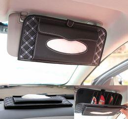 2017 dossier de voiture fournitures 2015 nouveaux 3 en1 voiture cd fournitures sacs dossier boîte de mouchoirs de carte soleil ombrage cd voiture cd auto accessoires bon marché dossier de voiture fournitures