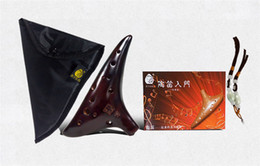 Wholesale Professional China holes AC Ocarina terracotta classical Ceramic Clay C mode art craft Musical Instrument