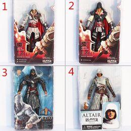 NECA ASSASSIN'S CREED II 2 EZIO ACTION FIGURE WHITE,Assassin's Creed II 7