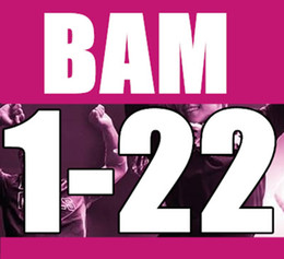 Free Shipping New Routine BAM 1 - 22 SH Aerobics Fitness Exercise BAM1-22 Video DVD + Music CD (This price is 1 course)