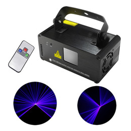 New Mini Portable 8 CH DMX Blue Laser Scanner Effect Stage Lighting DJ Party Club Show LED ProjectorLights DM-B150 450