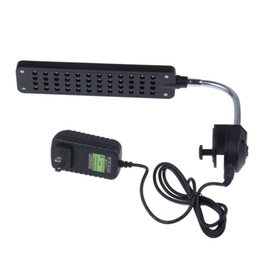Wholesale Aquarium LED Lamp With Clip W leds AC100 V Aquarium Led Light High Quality Fish Tank Lamps For Aquarium EU US AU UK Plug