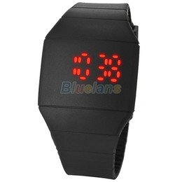 Wholesale Sports Systemic Silicone Ultra thin Multi function Design Unisex Newest LED Watches J7K