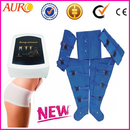 best quality pressotherapy air massager clothes Lymphatic Massage suit beauty machine with one year warranty AU-7007