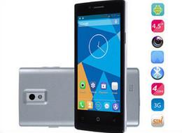 3g usb libre en Línea-DG450 Smartphone IPS Android 4.2 MTK6582 3G 4.5 pulgadas de Pantalla IPS Internacional DOOGEE Quad core 1GB RAM 4GB ROM de 8.0 MP GPS Miracast Barco Gratuito