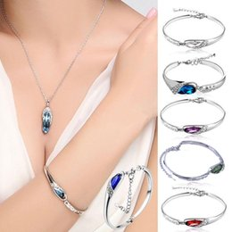 Wholesale New Fashion Women Crystal Plated Rhinestone Filled Jewelry Stretch Bangle Cuff Bracelet Bead Wristband Gift