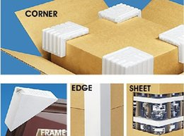 Wholesale CORNER FRAME EDGE SHEET Mixed Packing Foam Protectors protect the soft item GOOD Transporting packing items carton