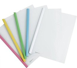 Wholesale Comix A813 Report Cover A4 set for Documents Files Holder and Display Color red yellow blue green white