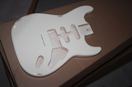 The Wholesale-2015 Hot Sale Factory Customized Semi-finished Electric Guitar Body with the String- thru- body Design