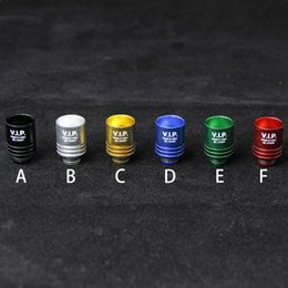 2016Newest Colorful Drip Tip Aluminum Wide Bore Drip Tip High quality Fit for E Cigarette Mechanical Mod colorful 510 Mouthpiece