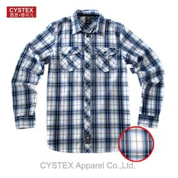 Wholesale-Shirt Men Brand Shirt Casual Plus Size Long Sleeve 100% Cotton Basic Dress High Quality Epaulet Soft Washed Europen Size L