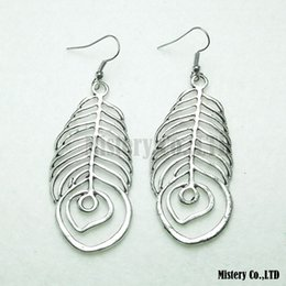 Wholesale Antique Silver Gold Carved Bone Vintage Ethnic Drop Dangle Earrings Jewelry Jewellery Gift For Women Girls