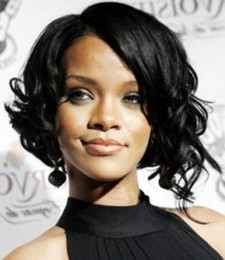 Short Curly Bob Hairstyles Human Hair Lace Wig For Black Women Bella Hair Free Shipping