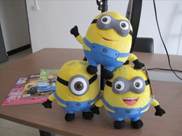 Wholesale Hot Selling Cartoon Movie Despicable Me Figure Minions Plush Toys Yellow Doll Soybeans For Kids Halloween Christmas Gifts CM
