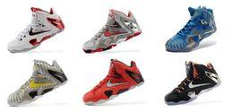 Wholesale Nike James Lebron Men Basketball Shoes Mens Lebron XI Elite Basketball Shoes Nike Sport Sneakers Mens Running Shoes factory_store01