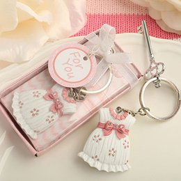 Wholesale Newest Baby Birthday Gift Cute as can be Key Chain Favor in Pink color For baby shower gift favor