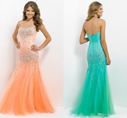 New luxury designer prom dress mermaid tulle with beads cheap party dress evening ball gowns mermaid customer made
