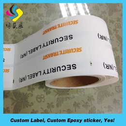 Wholesale printing company heat resistant food labels peel off labels