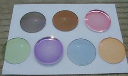 Wholesale customized HMC muti color photochromic myopia Asperic resin glasses lenses SV for prescription glasses