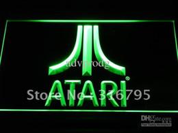 e022-g Atari Game PC Logo Gift Display Neon Light Sign