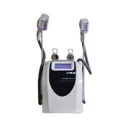 portable cavitation RF dual handles freeze fat machine for home and salon