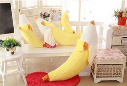 Wholesale Genuine Banana Pillow Nap Car Cushion Multi bananas paternity Pillow Plush Toys Banana pillow birthday gift Wedding Jewelry