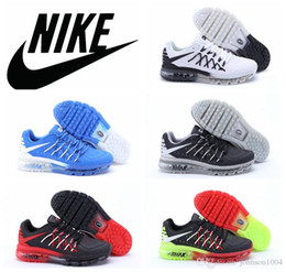 Nike air max 2015 white black men Running Shoes discount airmax 2015 sports shoes original quality black red maxes 2015 athletic shoe 40-45