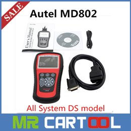 Wholesale 2015 Original Autel maxidiag elite md802 All System Including MD701 MD702 MD703 MD704 in with DS model DHL