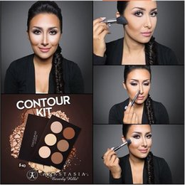 Wholesale Carbonate Mud Mask New Makeup Face Ana sta sia CONTOUR KIT Bronzers Highlighters DHL