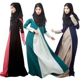 Middle East Islamic Dubai Muslim Abaya Dress Turkish Clothing For Woman Traditional Muslim Women Long dresses Robe Musulmane Vestidos Longos
