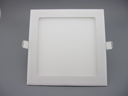 Dimmable LED ceiling panel light With AC 85 to 265V Driver 6W LED Dimmable Recessed Downlight Round Square UL SAA C TICK