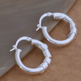 Wholesale Fashion Jewelry Manufacturer a Packaged Big Circle earrings sterling silver jewelry factory price Fashion