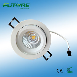 Triac dimmable 9W COB Cree LED Downlight,220Vac high bright COB ceiling led downlights with SAA driver 50 pieces per cartion