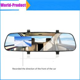 Wholesale 2 quot TFT Rear view Mirror Car Dvr Direct Selling Super Night Vision Car dvr HD Wide Angle On Board Monitoring