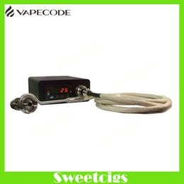 Wholesale Mini titanium Electric dab Nail With Ti Nail Vapor Wax Dry Herb Electronic Temperature Controller Box fit to glass bong VAPECODE nail box