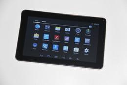 Pouces 1gb à vendre-DHL Livraison 9 pouces Android 4.4 Quad Core Allwinner A33 Tablet PC 1G RAM 8G ROM WIFI externe 3G Epad