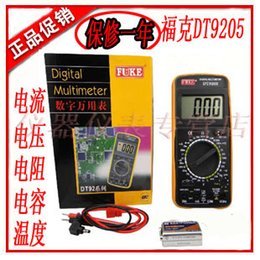 Wholesale Genuine Shenzhen DT9205A Digital Multimeter digital versatile multimeter Fu Keli special letter