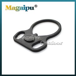 One Point Sling Mount - Aspen Ridge Sports Ambidextrous Dual Round Loop One Point Sling Adapter Mount for Model 4 15 223 5.56