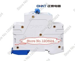 Wholesale CHINT MCB NB1 C4A P low voltage mini miniature circuit breaker Modular DIN Rail motor protection CE schneider