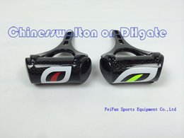 Wholesale road bicycle green black carbon fiber bike handlebar mount handlebar computer holder rack bicycles part