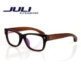 Wood Reading Glasses Women New Brand Design Men Eyeglasses Frame Oculos De Grau Femininos Glasses Bamboo Computer Goggles 7075C
