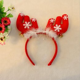 Christmas Party Hats Christmas Head Band Christmas decorations Gifts for Children The Party Must Snowman Deer HD02
